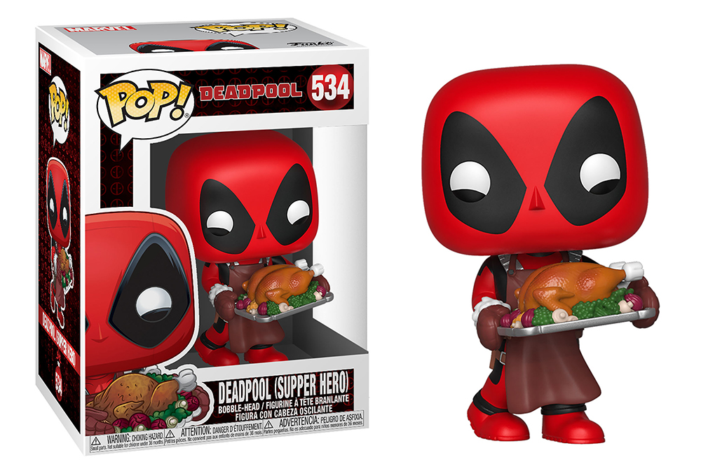 Funko POP Marvel: Holiday S2 - Deadpool