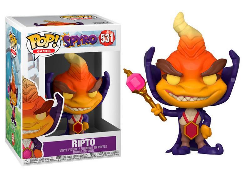 Funko POP Games: Spyro - Ripto
