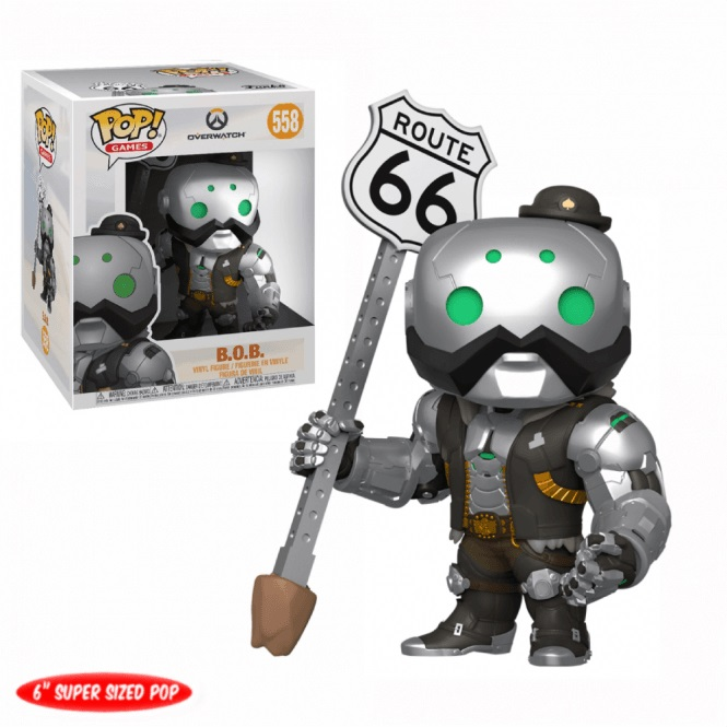 "Funko POP Games: Overwatch S6 - 6"" B.O.B."