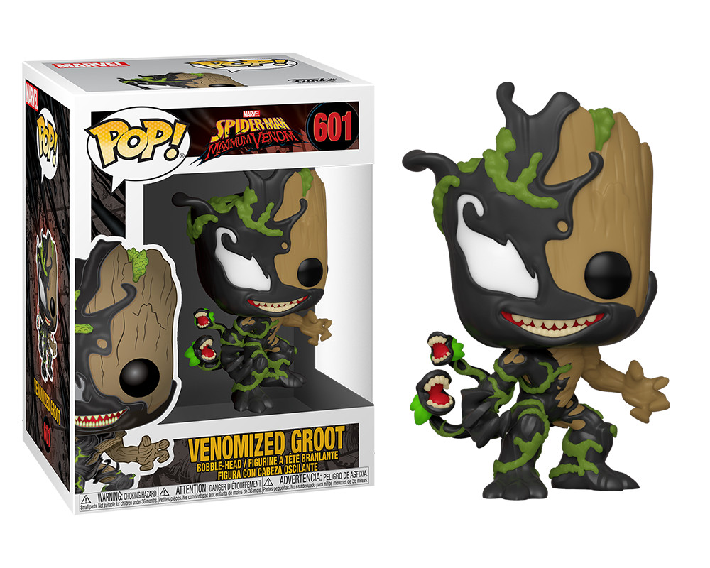 Funko POP Marvel: Max Venom S3 - Groot