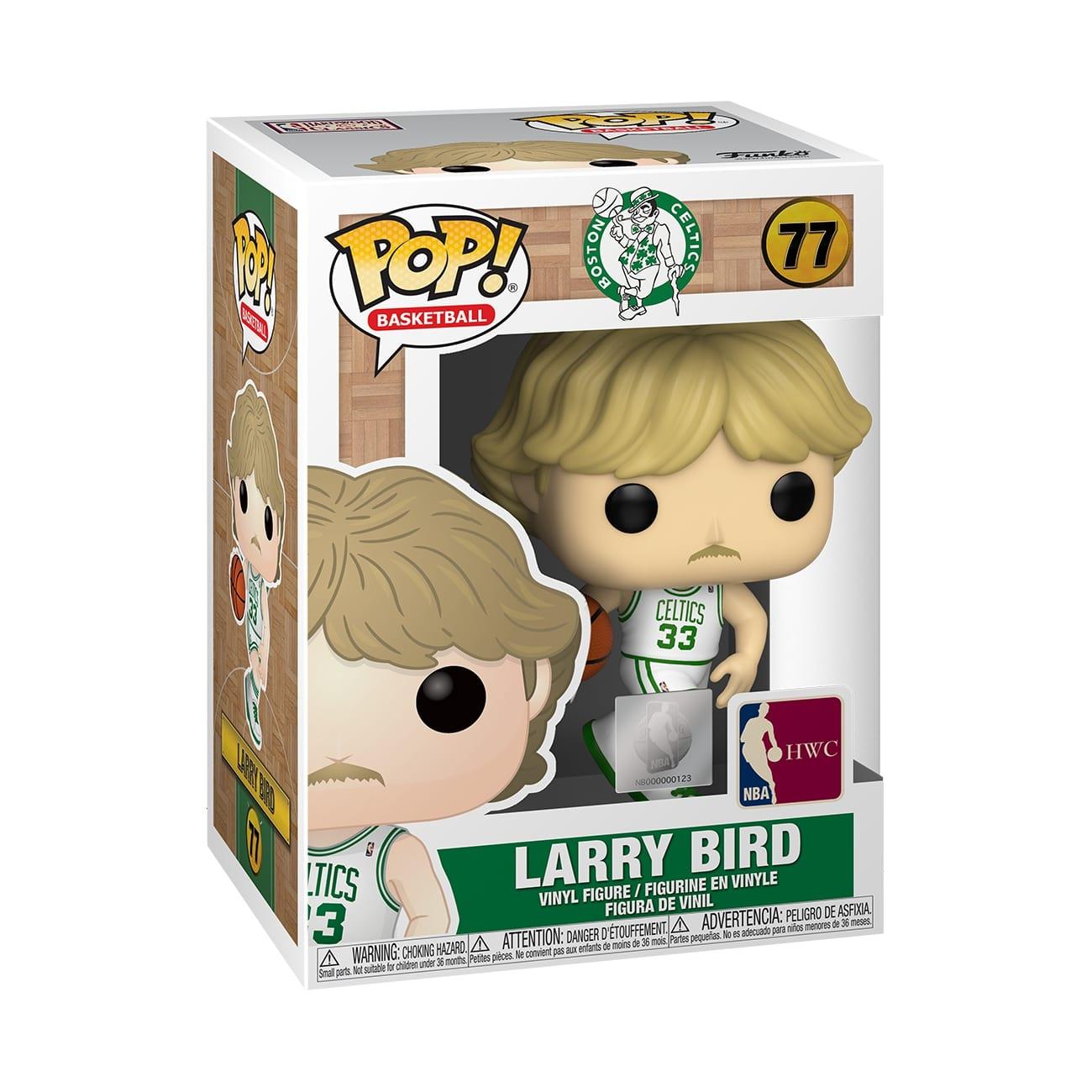 Funko POP NBA: Legends - Larry Bird(Celtics home)
