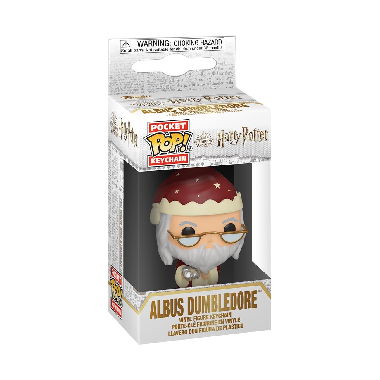 Funko POP Keychain: HP S11 Holiday - Dumbledore