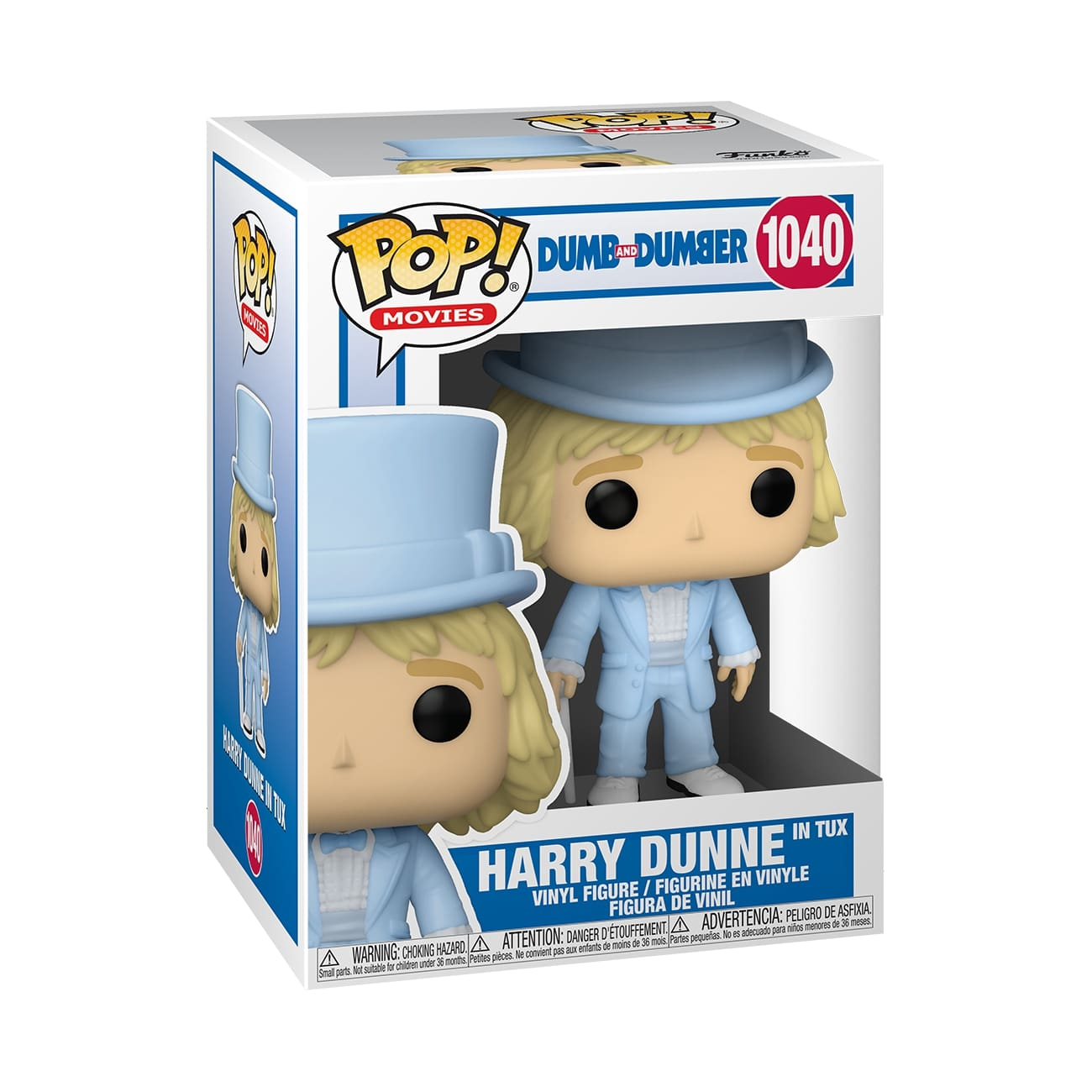Funko POP Movies: Dumb & Dumber - Harry In Tux w/Chase - balení 6 ks