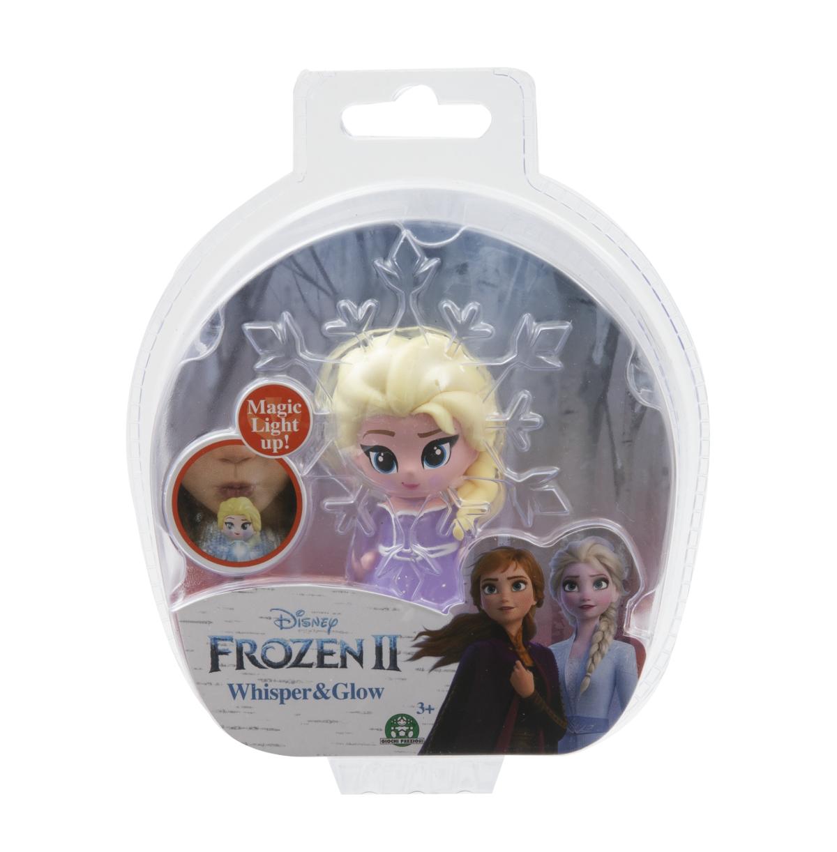 Frozen 2: 1-pack svítící mini panenka - Elsa Opening