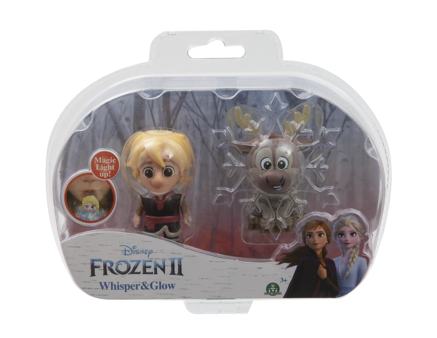 Frozen 2: 2-pack svítící mini panenka - Kristoff & Sven