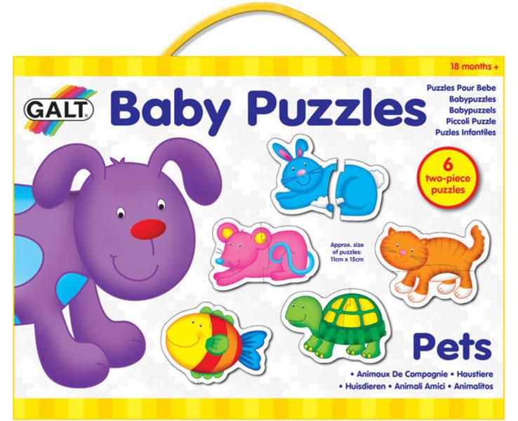 Puzzle pro nejmenší – domácí mazlíčci 2.