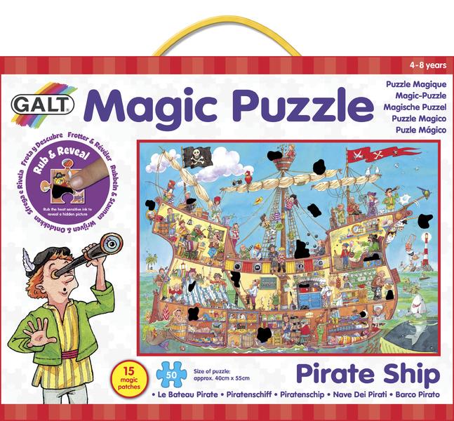 Magické puzzle – pirátská loď 2