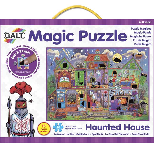 Magické puzzle – strašidelný dům 2
