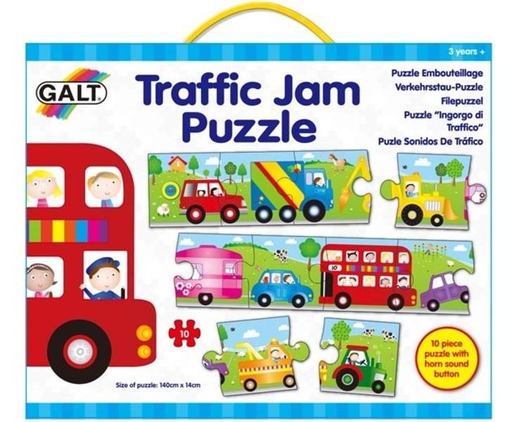 Puzzle dopravní zácpa