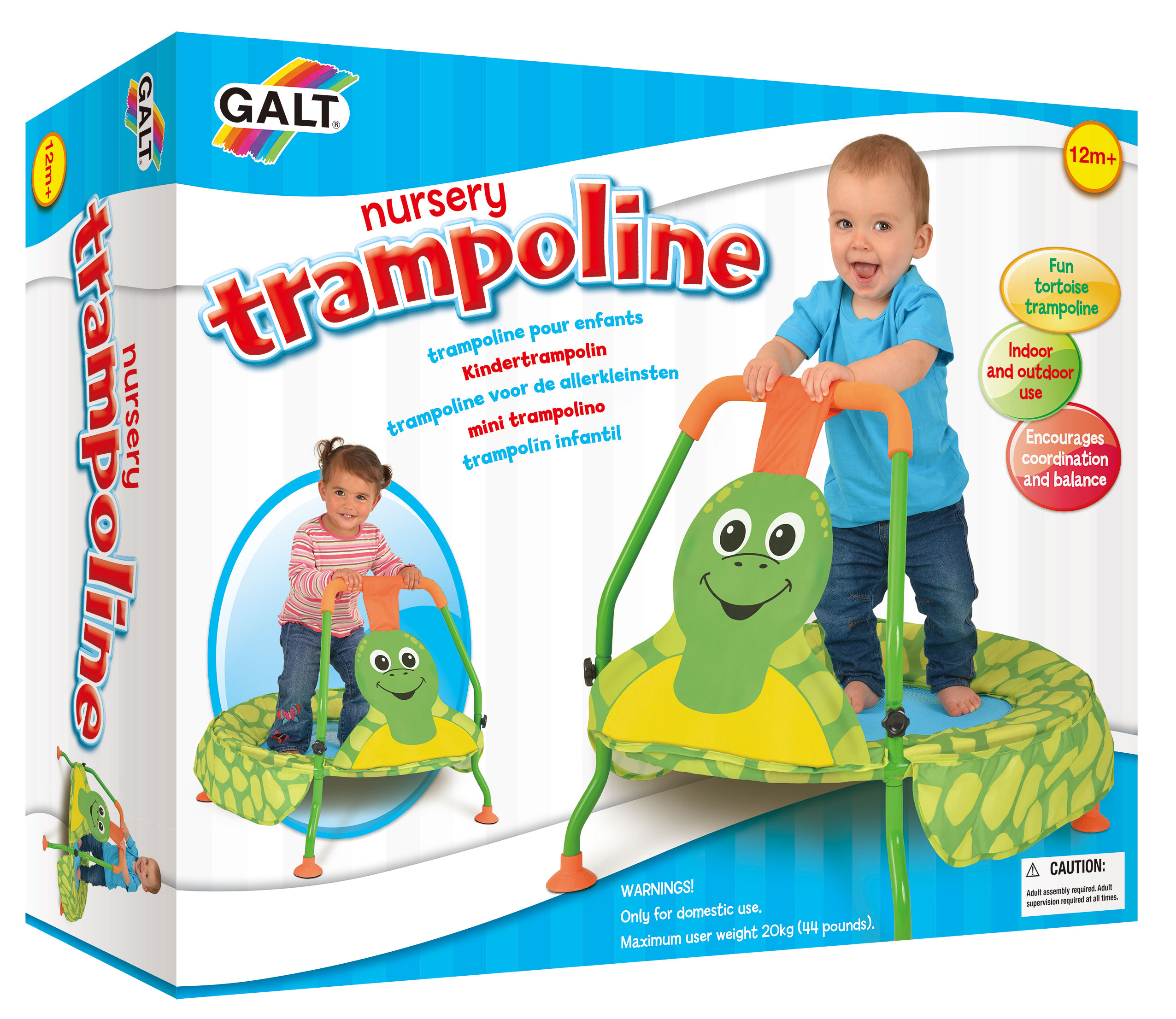 Trampolína pro nejmenší