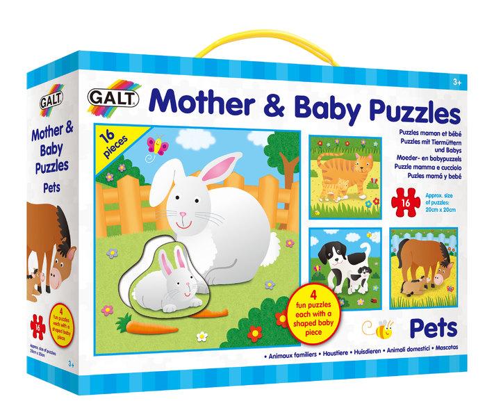 Puzzle - Mother and Baby - Domácí mazlíčci