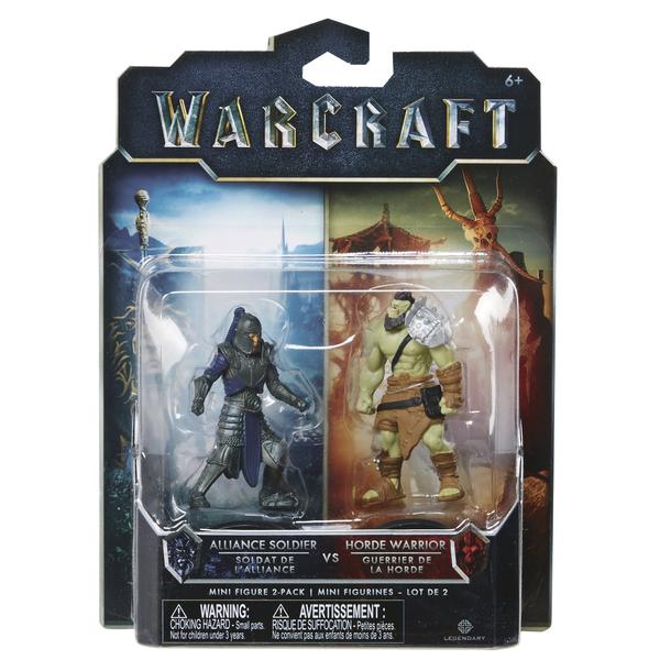 WARCRAFT - Sada 2 figurek 8cm - série #1