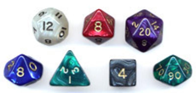 Kostka perleťová - K6 číslo