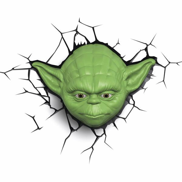 3D světlo EP7 - Star Wars Yodova hlava