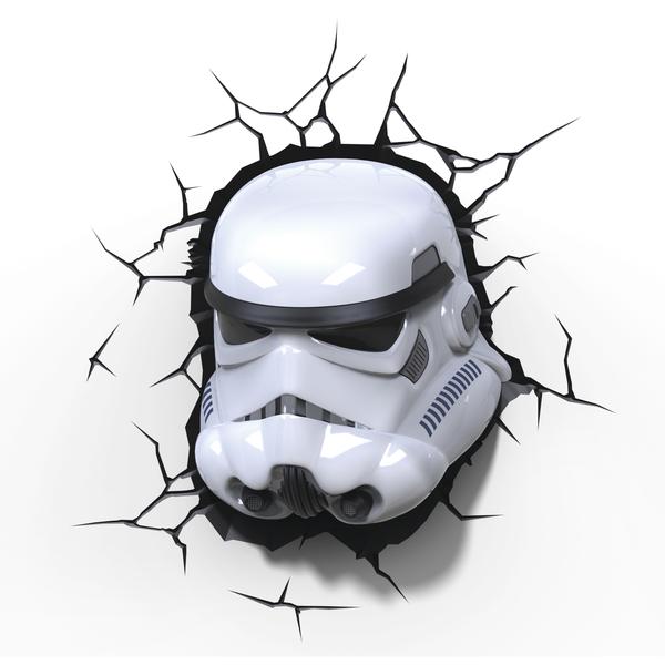 3D světlo EP7 - Star Wars Storm Trooperova maska