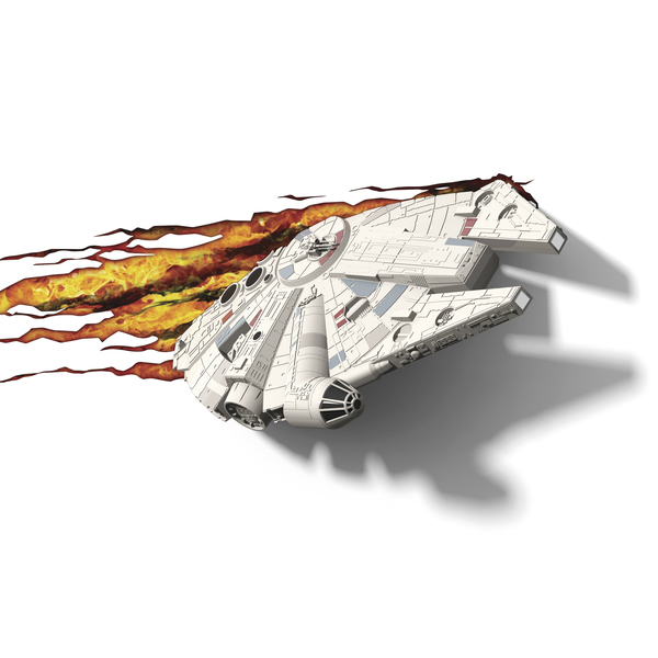 3D světlo EP7 - Star Wars Millennium Falcon