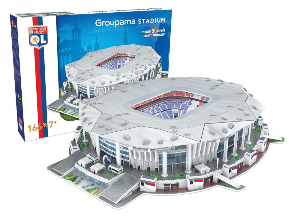 Nanostad: FRANCE - Groupama (Olympique de Lyon)