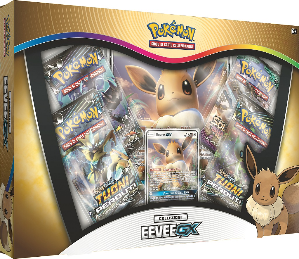 Pokémon TCG: Eevee-GX Box
