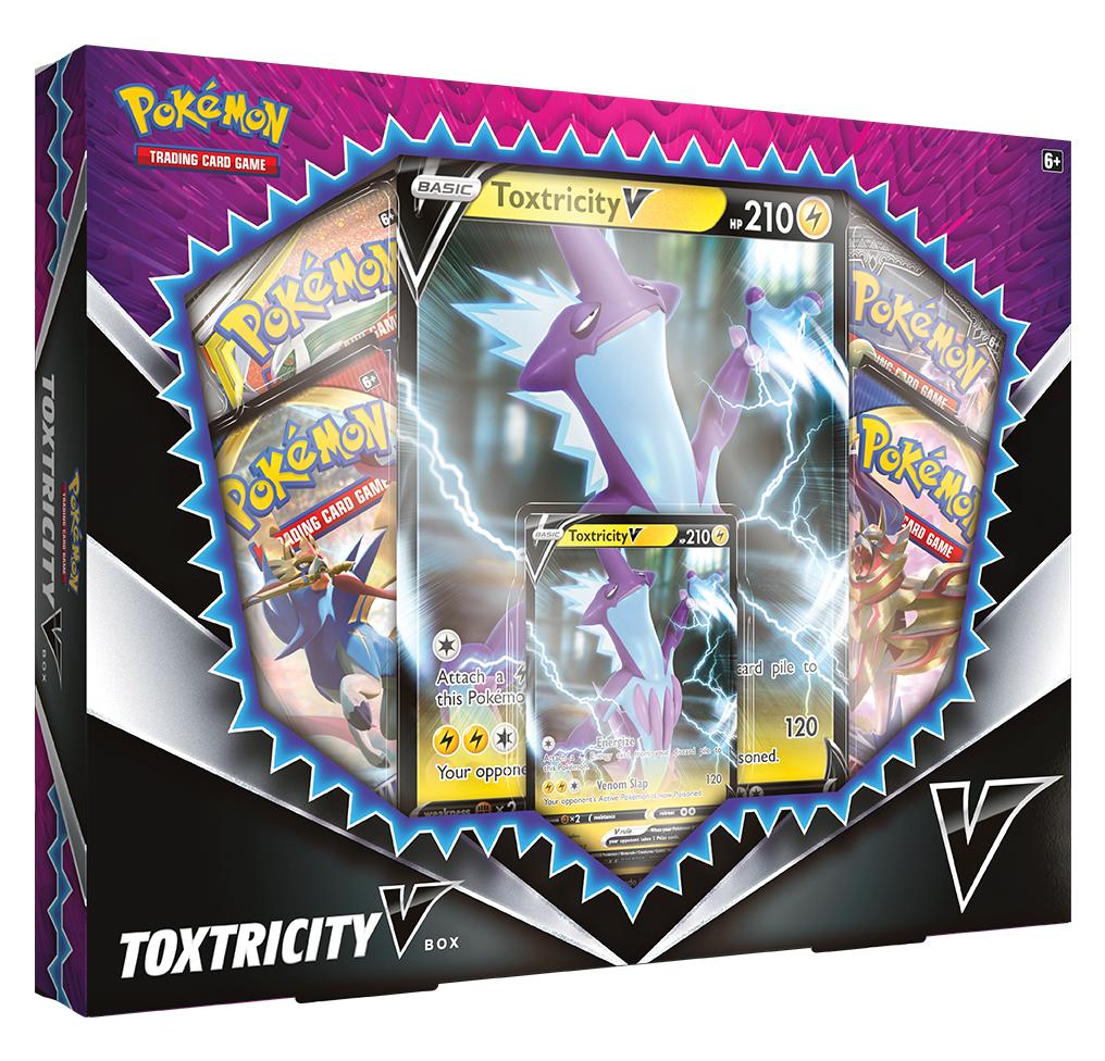 Pokémon TCG: Toxtricity V Box