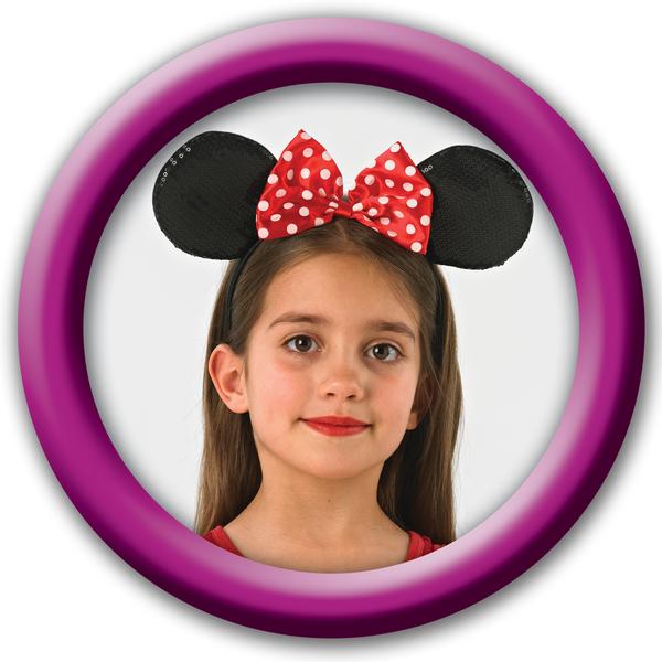 Minnie Mouse: čelenka -  deluxe