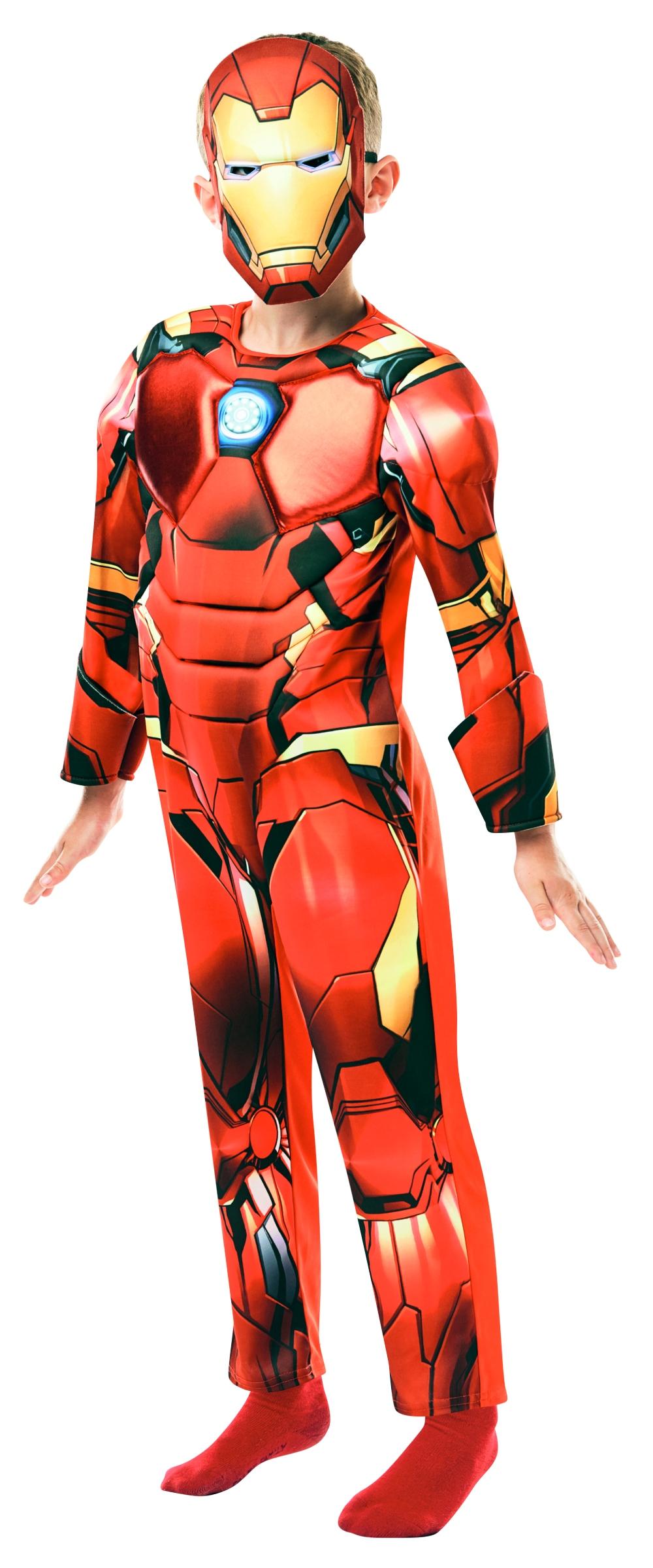 Avengers: Iron Man Deluxe - vel. M