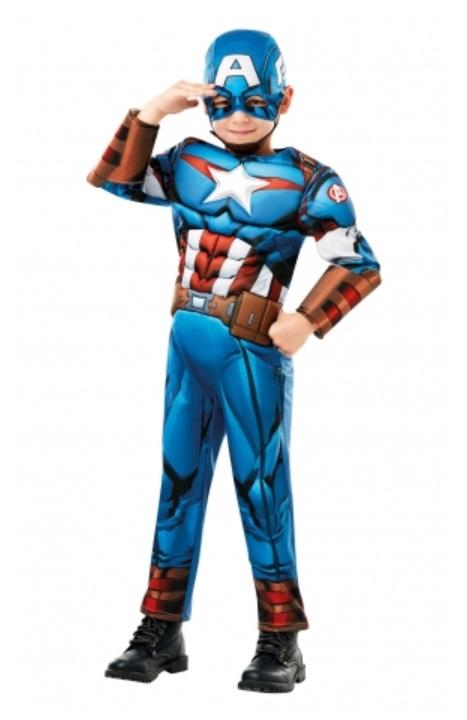Avengers: Captain America Deluxe - vel. L