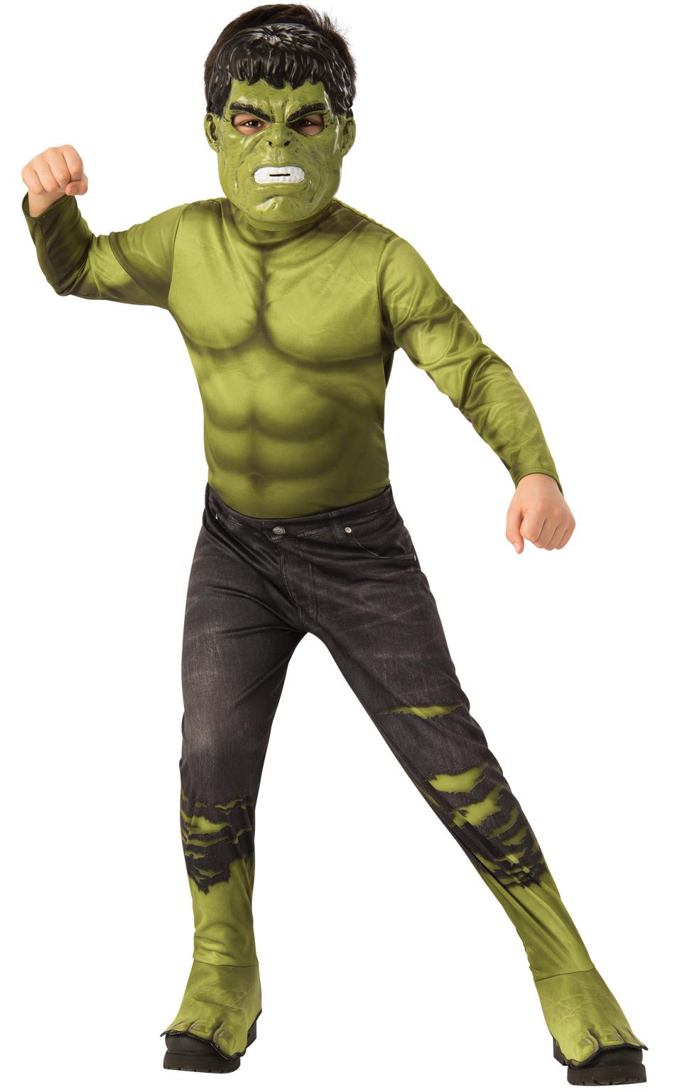 Avengers Endgame: Hulk - Classic kostým s maskou vel. S