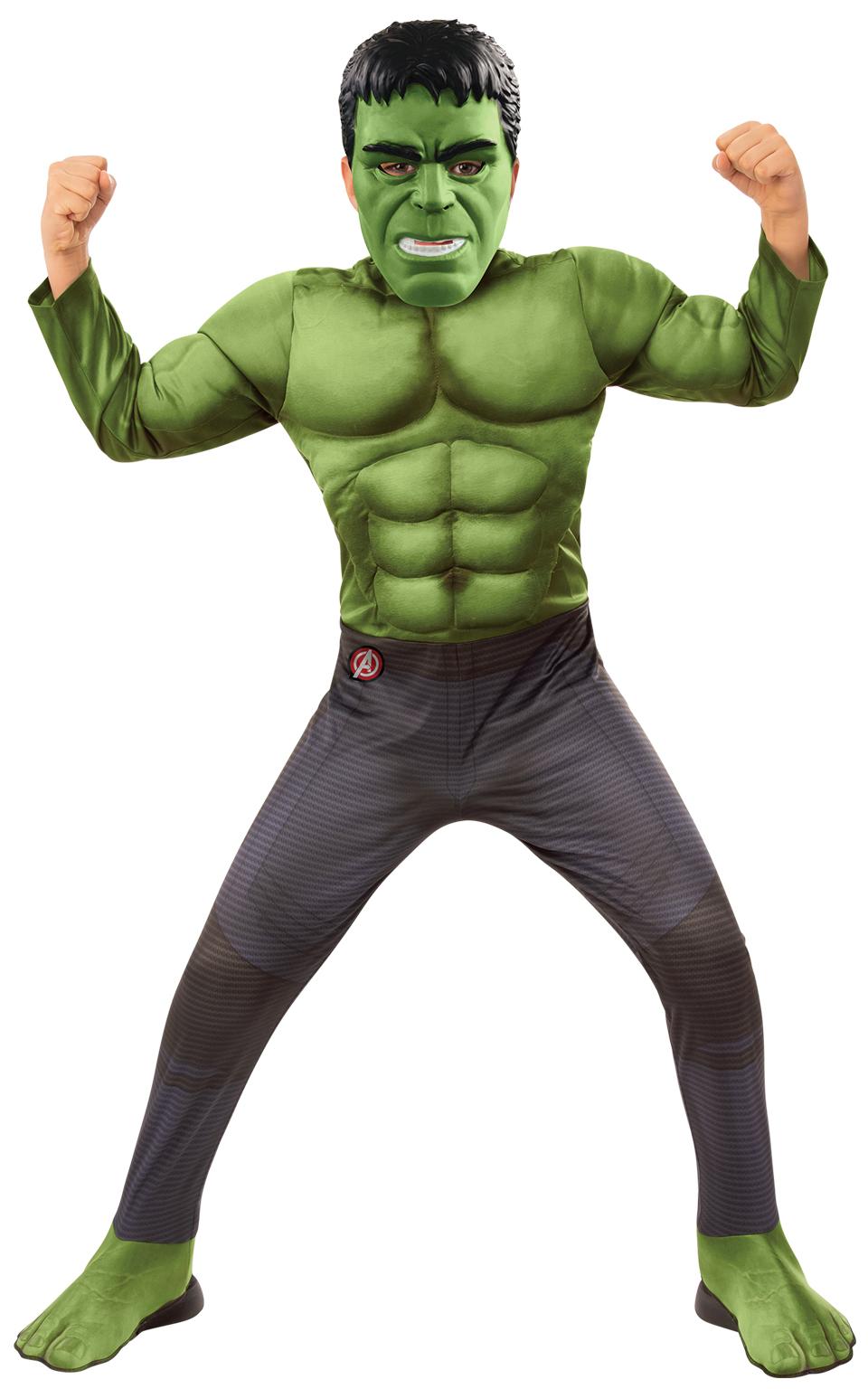 Avengers Endgame: Hulk - DELUXE kostým s maskou vel. M