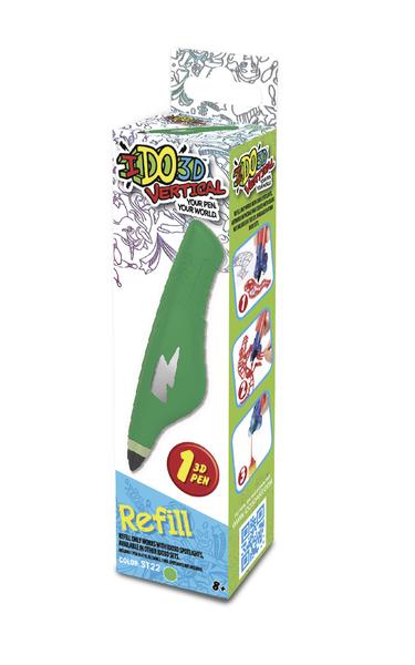 IDO3D Vertical:  náhradní náplň - zelená