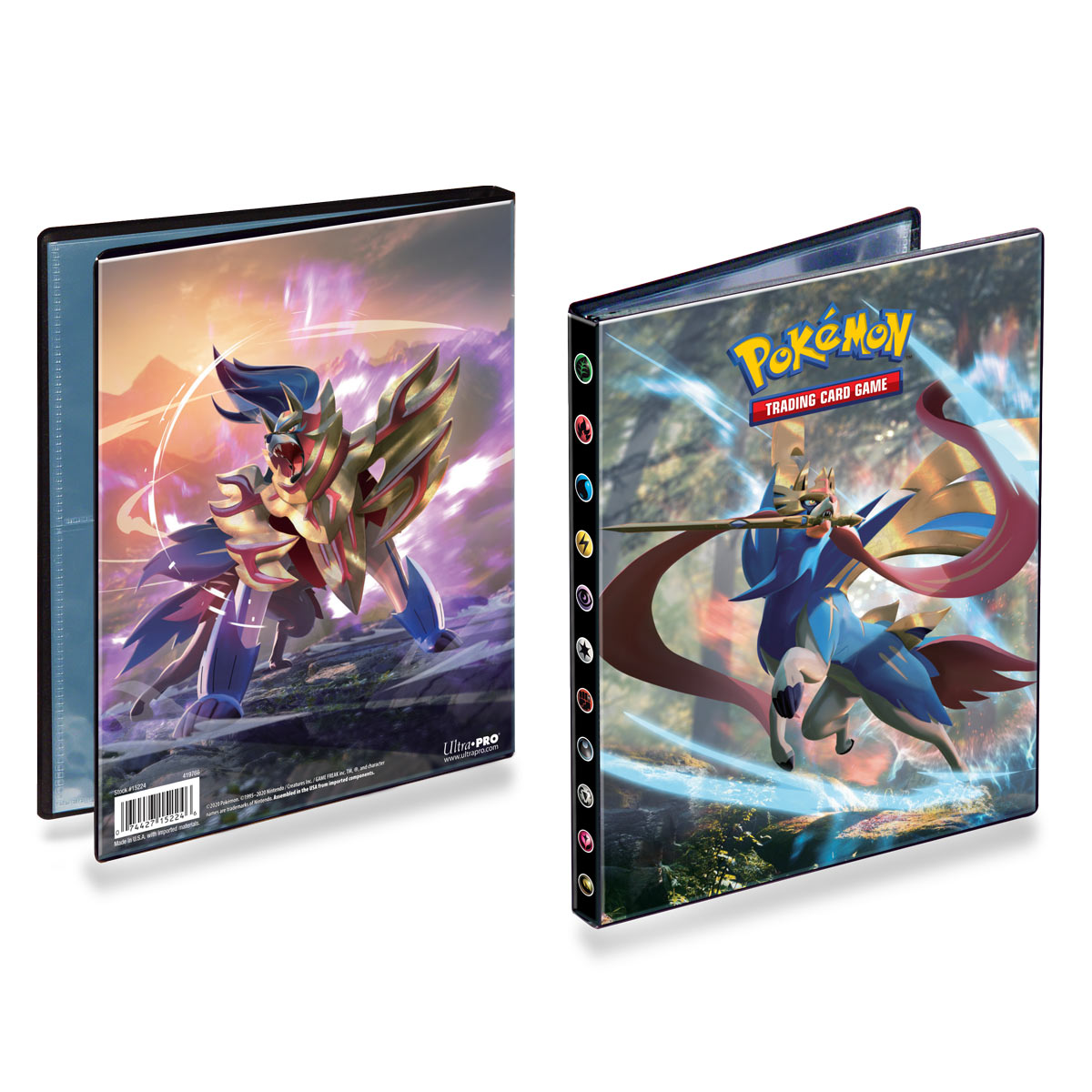 Pokémon: Sword and Shield - A5 album na 80 karet
