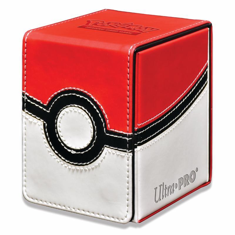 Pokémon UltraPRO: Flip Box - kožená krabička na karty