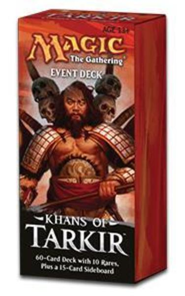 Wizards of the Coast MTG Khans of Tarkir Event Deck