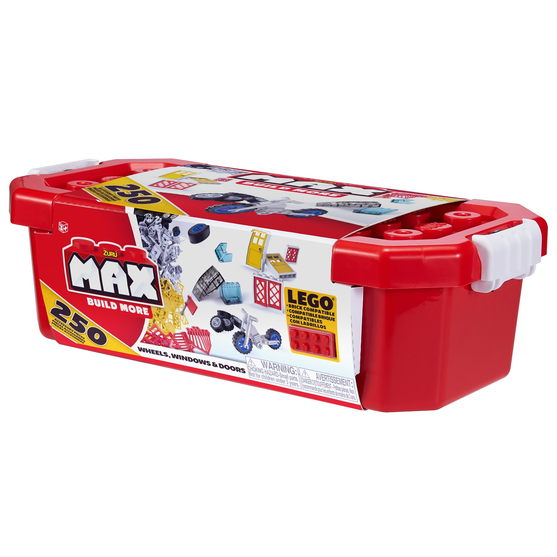 Max Build More: 250 dílků - stroje, okna, dveře