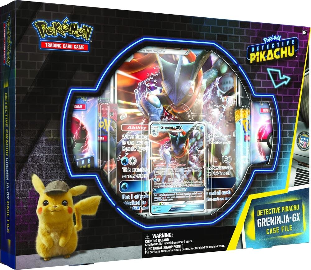 Pokémon TCG: Detective Pikachu Greninja-GX Case