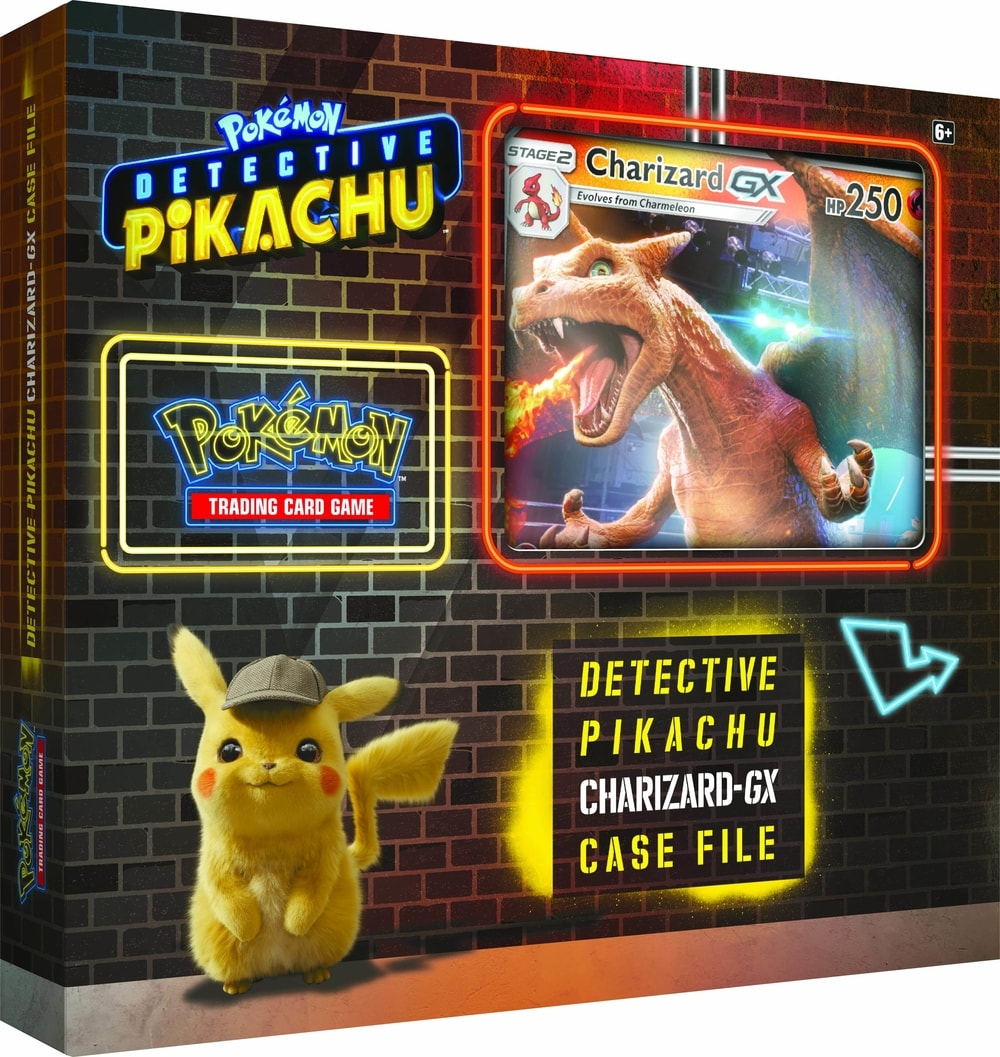 Pokémon TCG: Detective Pikachu Charizard-GX Case