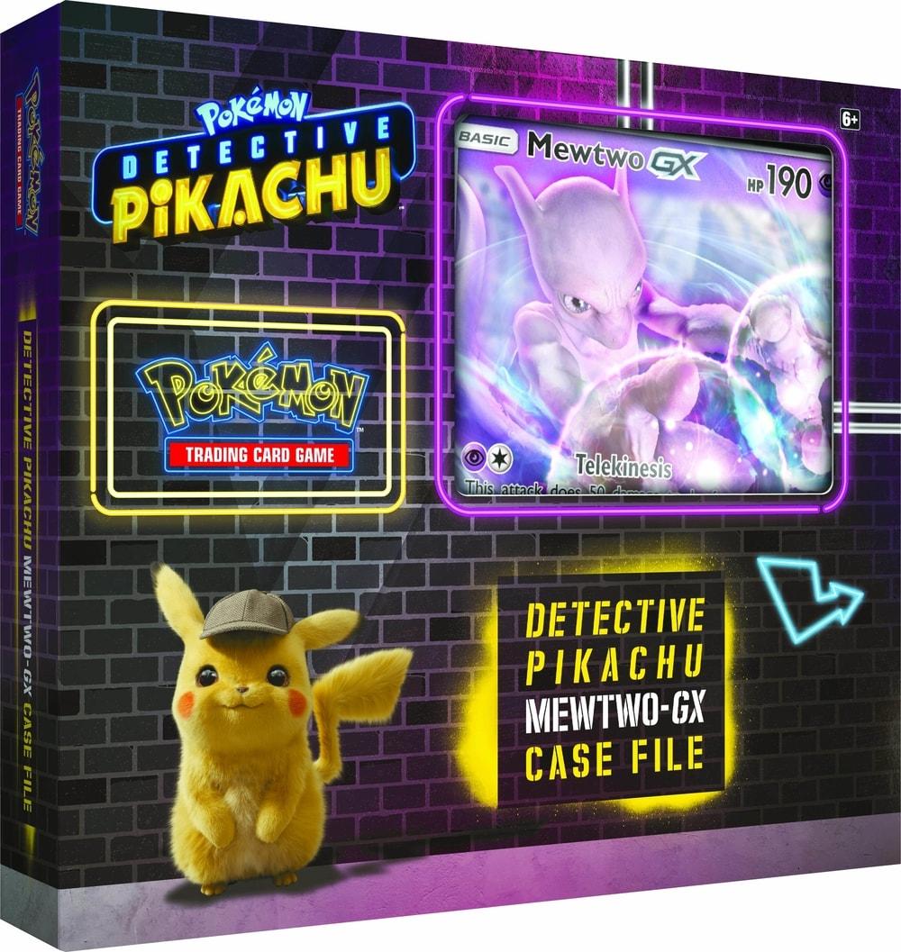 Pokémon TCG: Detective Pikachu Mewttwo-GX Case