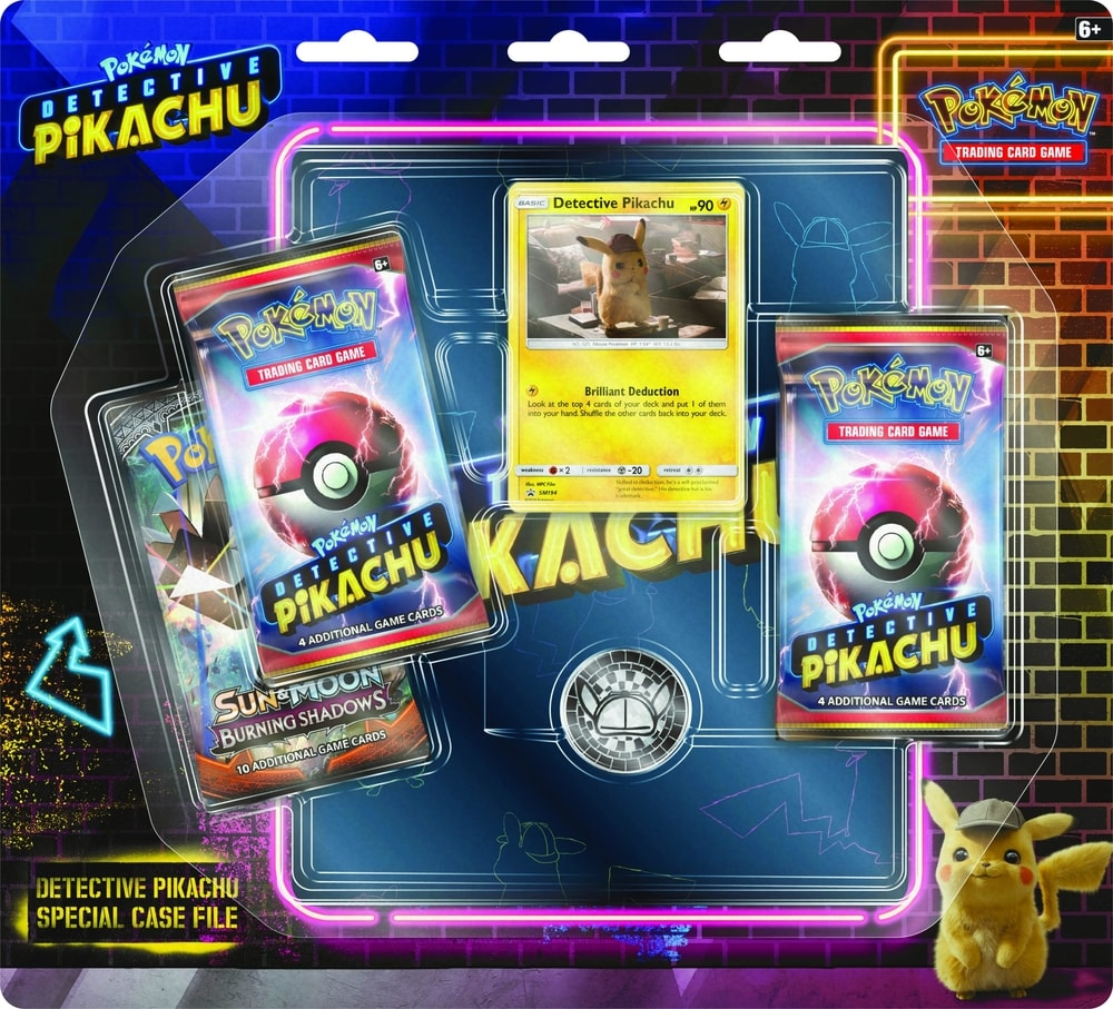 Pokémon TCG: Detective Pikachu Special Case